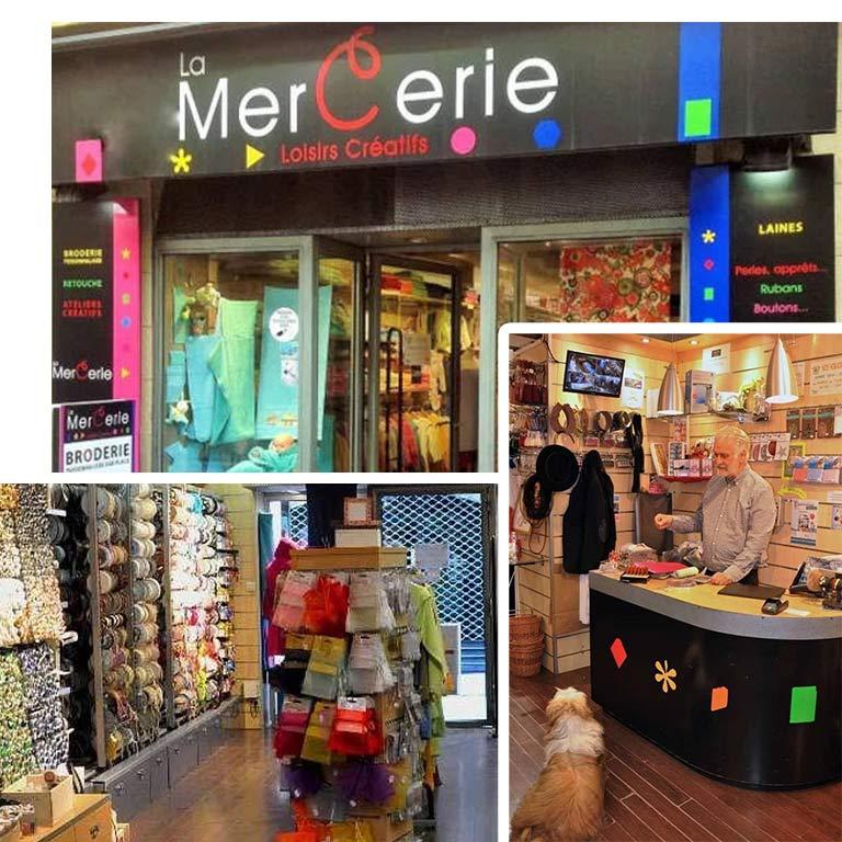 magasin de couture à Montpellier